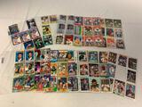 Lot of Football and Baseball Cards with Stars and Rookies
