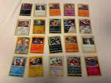 Lot of 20 POKEMON Holo Rares Trading Cards