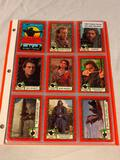 ROBIN HOOD PRINCE OF THIEVES 1991 Topps Complete Card Sets 88 Cards / 9 Stickers