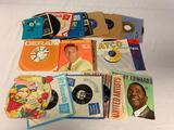 Lot of 30 Vintage 45 RPM Records