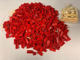 VINTAGE Lot of Halsam American Plastic Building Bricks