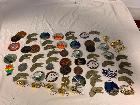 Lot of 60 VRC Virtual Running Club Diecast Medals