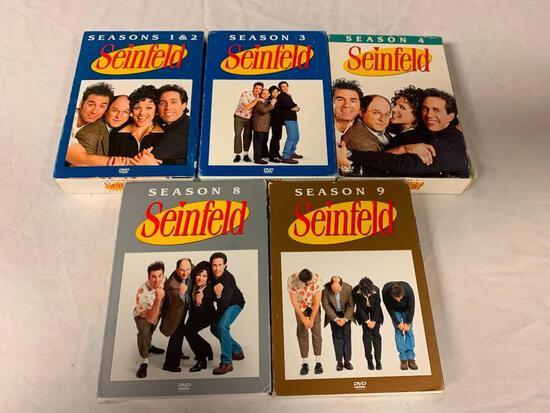 SEINFELD Season 1,2,3,4,8 and 9 DVD Box Sets