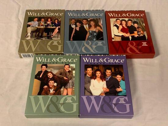 WILL & GRACE Season 1,2,3,4 and 5 DVD Sets