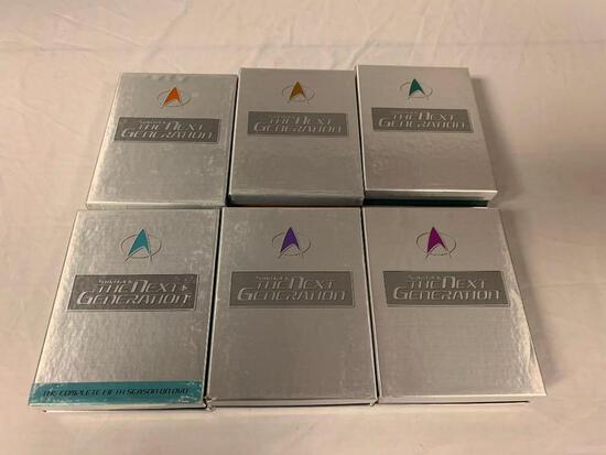 STAR TREK The Next Generation Season 2,3,4,5,6 and 7 DVD Box Sets