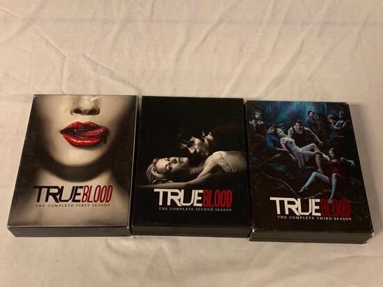 TRUE BLOOD Season 1,2 and 3 DVD Sets