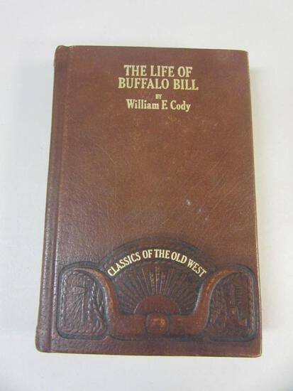 THE LIFE OF BUFFALO BILL By William E. Cody Autobiography Leatherbound 1982 Reprint