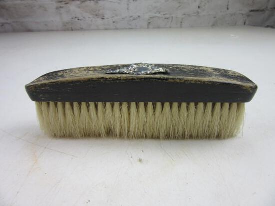 "6"" Long Brush w/ Sterling Silver Filigree"