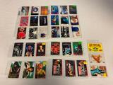 Lot of 33 Vintage Phone Cards with characters