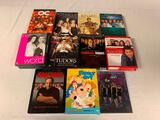 Lot of 11 DVD First Seasons Box Sets-Sopranos, ER, Rome, Family Guy, The Tudors and others
