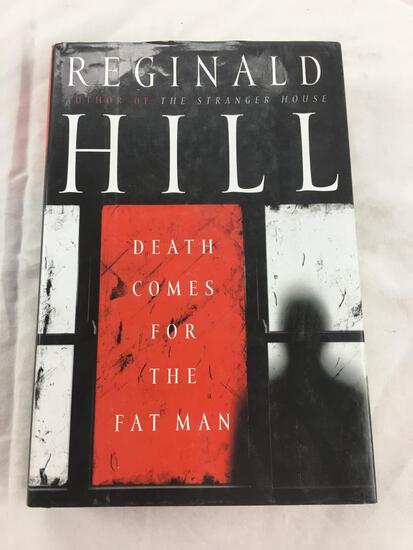 """2007 """"Death Comes for the Fat Man"""" by Reginald Hill. HARDCOVER"""