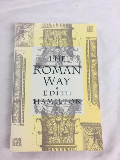 "1993 ""The Roman Way"" by Edith Hamilton. PAPERBACK"