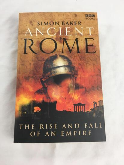 """2007 """"Ancient Rome, The Rise and Fall of an Empire"""" by Simon Baker. PAPERBACK"""
