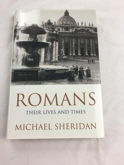"""1994 """"Romans, Their Lives and Times"""" by Michael sheridan. First Edition, HARDCOVER"""