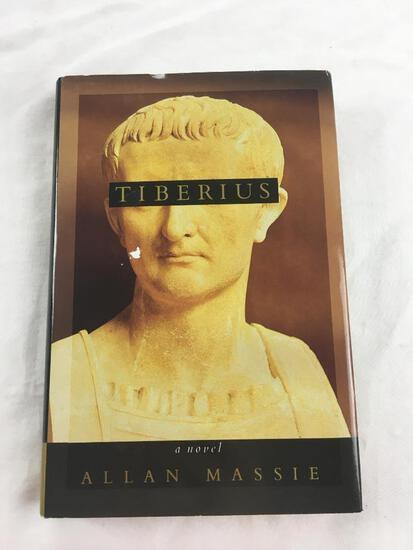 "1993 ""Tiberius, A Novel"" by Allan Massive. HARDCOVER"