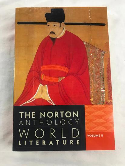 "1956 """"The Norton Anthology World Literature: Volume 8"" PAPERBACK"