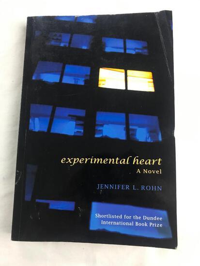 "2009 ""Experimental Heart"" A Novel by Jennifer L. Rohn PAPERBACK"