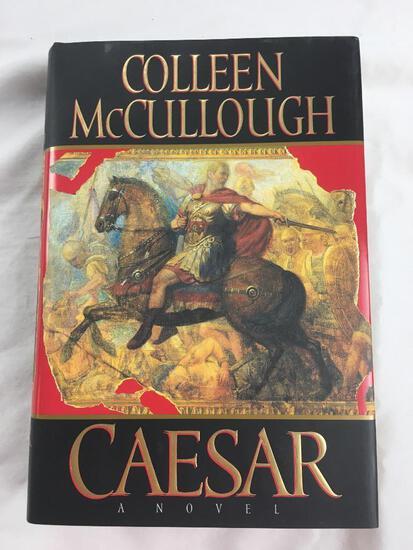 "1997 ""Caesar, A Novel"" by Colleenn McCullough. First Edition, HARDCOVER"