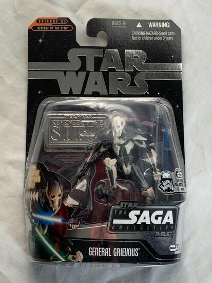 STAR WARS 2006 Saga Collection GENERAL GRIEVOUS Action Figure NEW Foil Variant