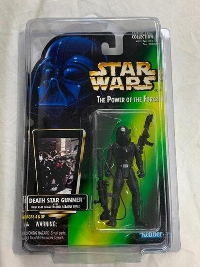 STAR WARS 1996 The Power Of The Force DEATH STAR GUNNER Action Figure NEW with case