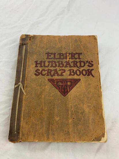 Elbert Hubbard's Scrap Book 1923 Paper Cover