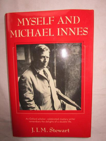 """1987 """"Myself and Micheal Innes"""" by J.I.M. Stewart HARDCOVER"""