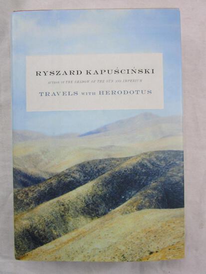 "2007 ""Travels with Herodotus"" by Ryszard Kapuscinski HARDCOVER"