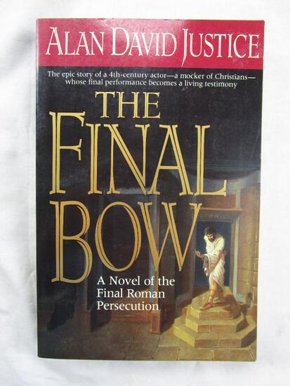"""1993 """"The Final Bow"""" by Alan David Justice PAPERBACK"""