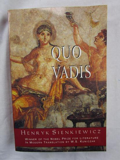 "1993 ""Quo Vadis"" by Henryk Sienkiewics PAPERBACK"