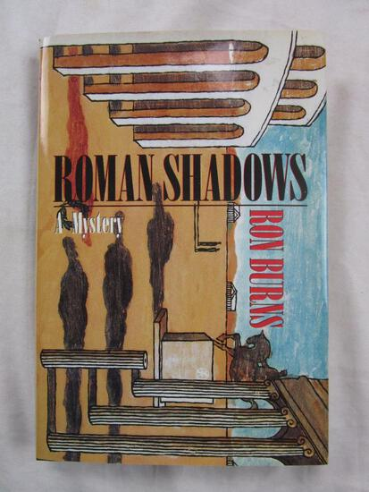 "1992 ""Roman Shadows"" by Ron Burns HARDCOVER"