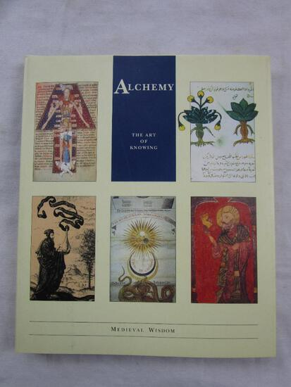"""1994 """"Alchemy: The Art of Knowing"""" from the Labrynth Publishing Co. HARDCOVER"""