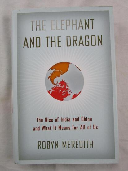 """2007 """"The Elephant and the Dragon"""" by Robyn Meredith HARDCOVER"""