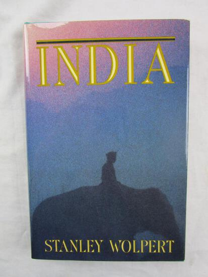 """1991 """"India"""" by Stanley Wolpert HARDCOVER"""