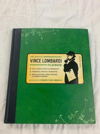 Official Vince Lombardi Playbook His Classic Plays Strategies Hardcover Book