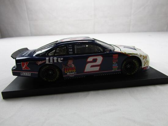 Rusty Wallace Elvis Presley TCB 2 NASCAR 50th Miller Lite 1:24 Diecast 1998 Ford Action Racing
