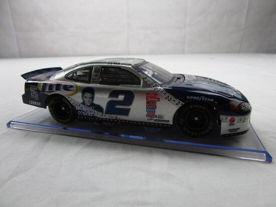 Rusty Wallace #2 NASCAR Miller Lite Elvis Presley 25th 1:24 Diecast 2002 Ford Taurus Action Racing