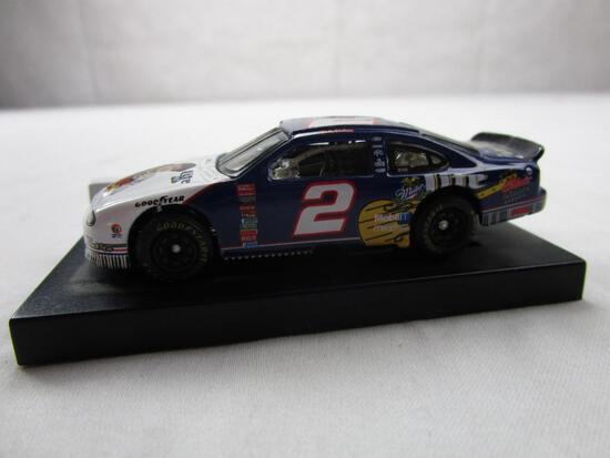 Rusty Wallace #2 Elvis Presley NASCAR 50th Miller Lite Action Racing 1:64 Diecast 1998 Ford Taurus