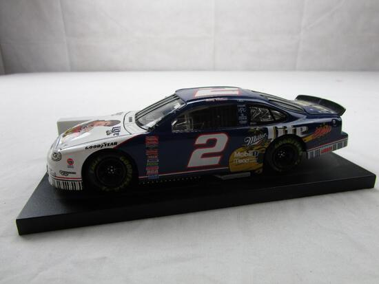 Rusty Wallace Elvis Presley #2 Miller Lite NASCAR 50th 1:24 Diecast 1998 Ford Taurus Action Racing