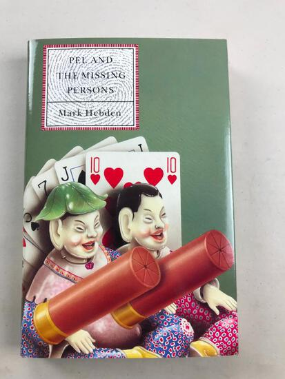 """1990 """"Pel and the Missing Persons"""" by Mark Hebden HARDCOVER"""