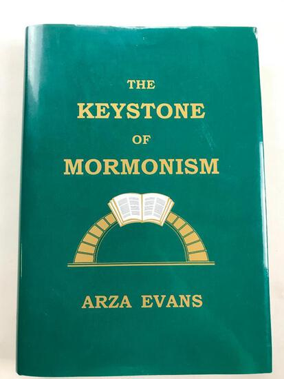 "2003 ""The Keystone of Mormonism"" by Azra Evans HARDCOVER"