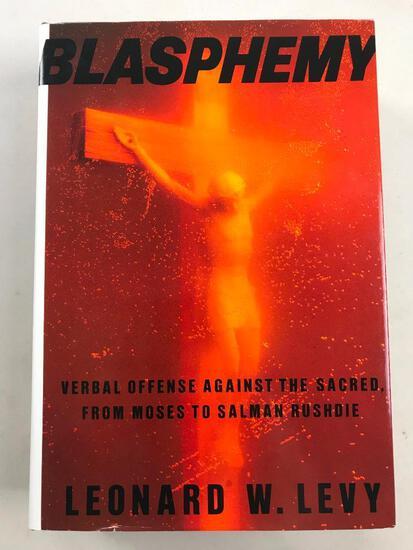"1993 ""Blasphemy"" by Leonard W. Levy HARDCOVER"