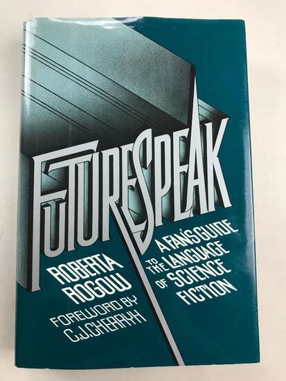 "1991 ""Future Speak"" by Roberta Rogow HARDCOVER"