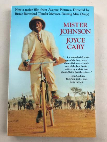 """1939 """"Mister Johnson"""" by Joyce Cary PAPERBACK"""