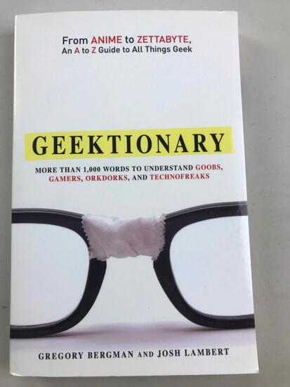 "2011 ""Greektionary"" by Gregory Bergman and Josh Lambert PAPERBACK"