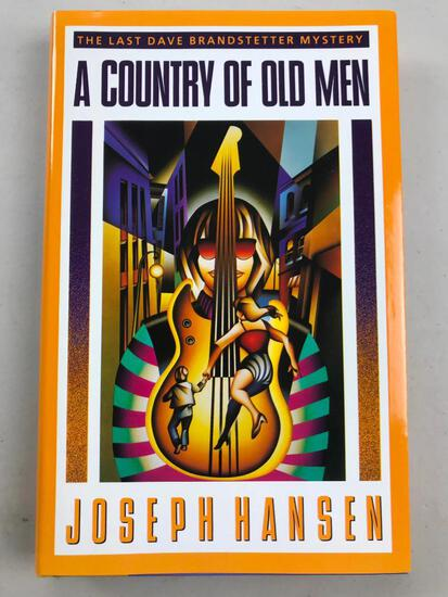 """1991 """"A Country of Old Men"""" by Joseph Hansen HARDCOVER"""