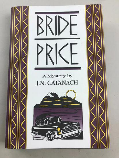 "1989 ""Bride Price"" by J.N. Catanach HARDCOVER"