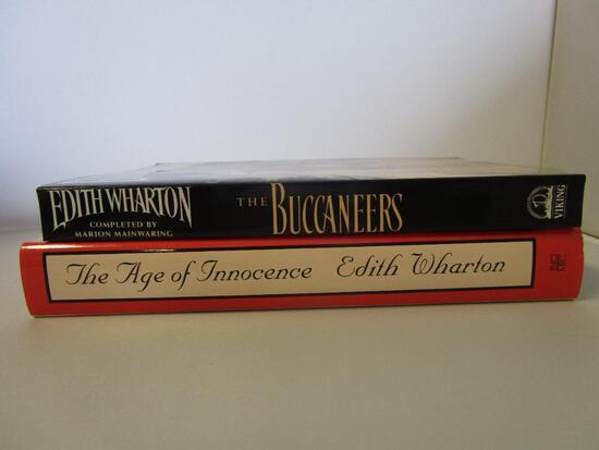 Lot of 2 Edith Wharton novels