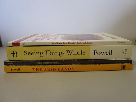 Lot of 4 paperback books about John Wesley Powell