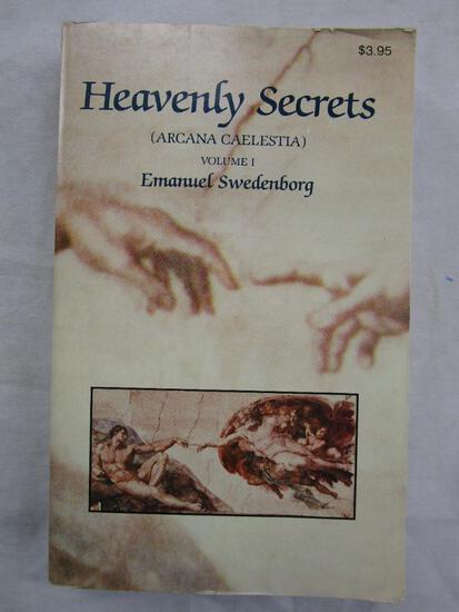 """1985 """"Heavenly Secrets"""" by Emanual Swedenborg PAPERBACK"""