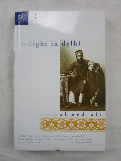 "1994 ""Twilight in Delhi"" by Ahmed Ali PAPERBACK"